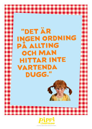 Picture of Pippi ingen ordning